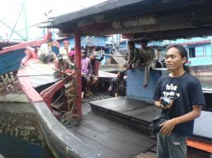 Kapal Ikan, Pantai Kejawanan, Cirebon
