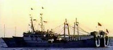 Kapal ikan ilegal Cina di perairan Gorontalo
