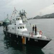 Kapal ikan ilegal Vietnam dan Thailand di perairan Indonesia Laut Cina Selatan, ditangkap Departemen Kelautan dan Perikanan (DKP)