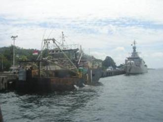 Kapal ikan ilegal lokal