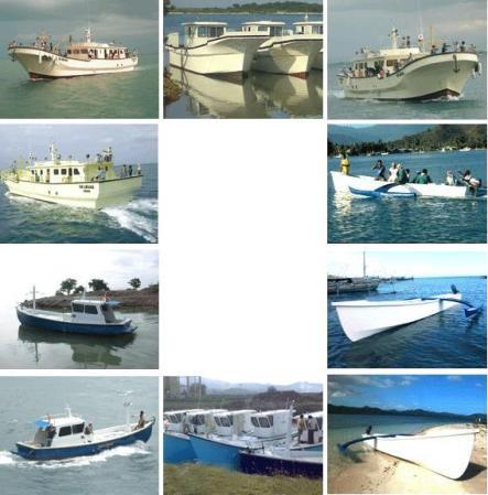Fisher boat, Surabaya