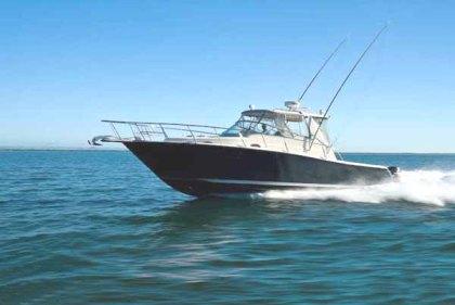 Fiber fishing boat : P - 11.60m, L - 3.60m, T - 0.65m