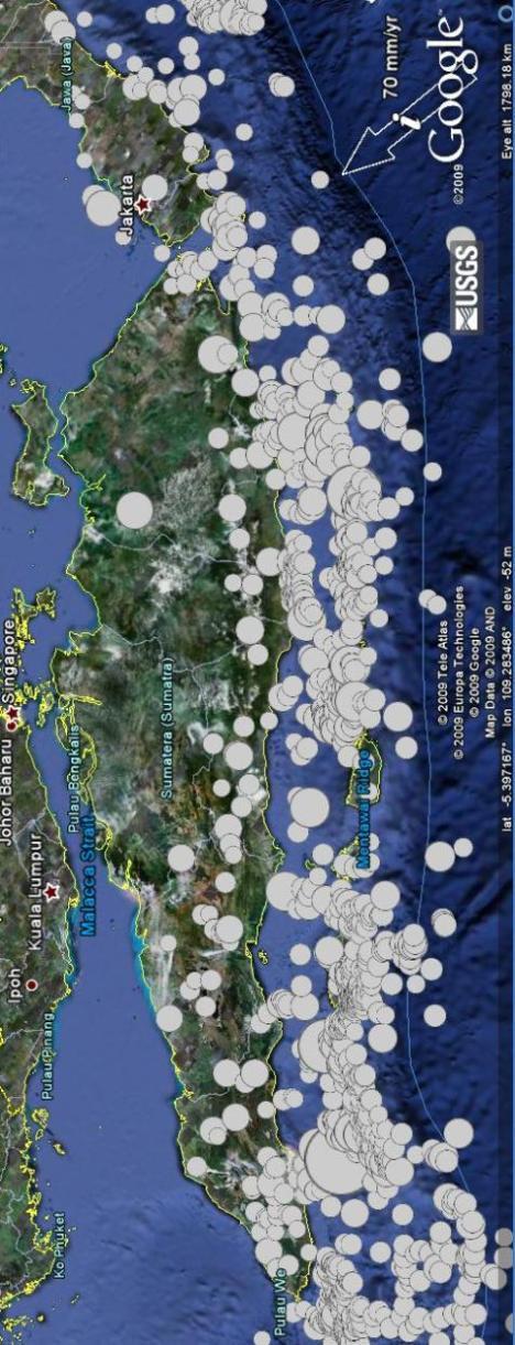Gempa Sumatra dan subduksi