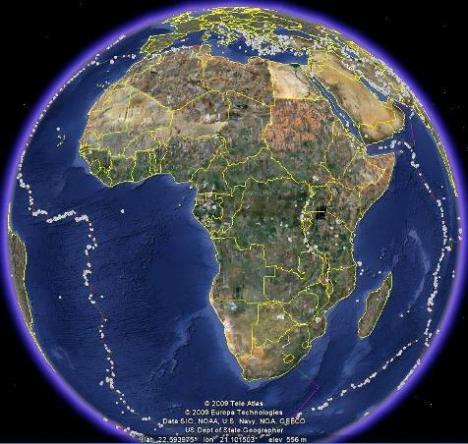Gempa Afrika