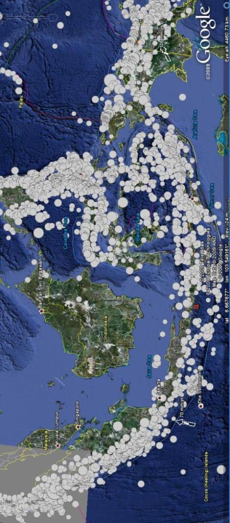 Kalimantan hampir tanpa gempa