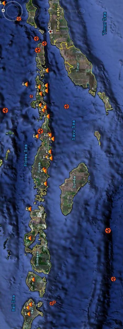 Gempa Gunung Api Bali Nusa Tenggara Sumbawa