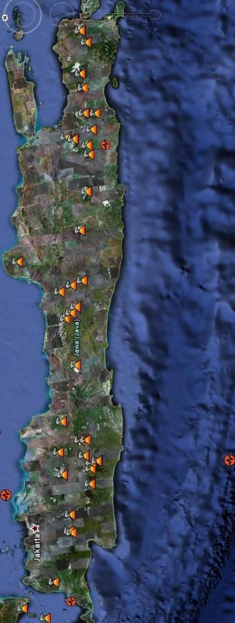 Gempa Gunung Api Jawa