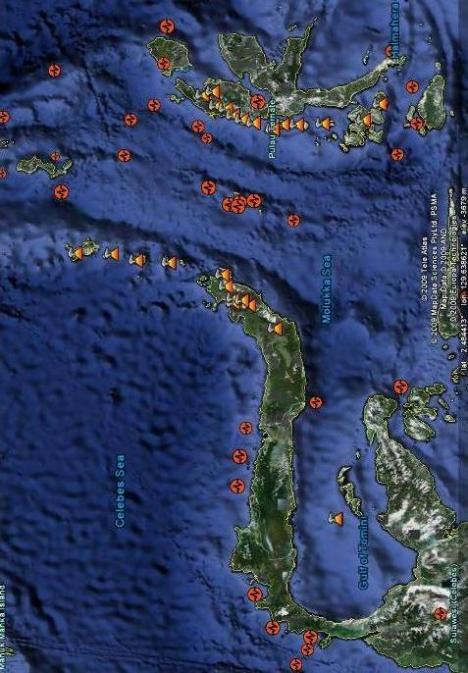 Gempa Gunung Api Sulut, Halmahera, Malut