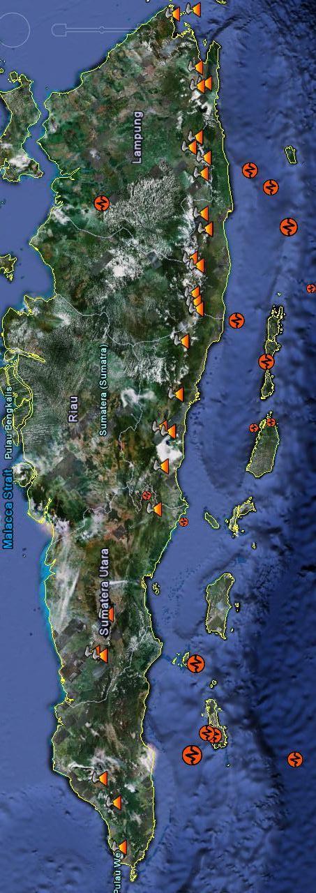 Gempa Gunung Api Sumatra