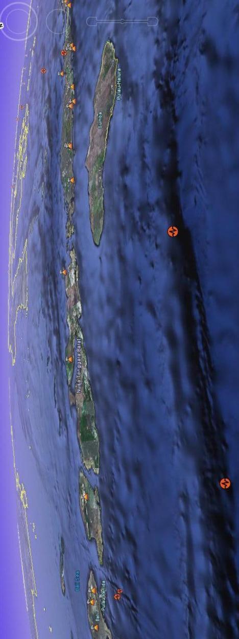 Lempeng Bali Nusa Tenggara Sumbawa